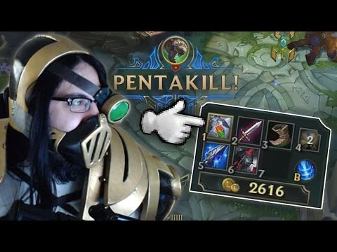 Imaqtpie - UNBELIEVABLE PENTAKILL, BRAND NEW URGOT BUILD? FIND OUT RIGHT HERE, RIGHT NOW