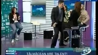 Spacy.Tv - Танец Майкла Джексона в прямом эфире