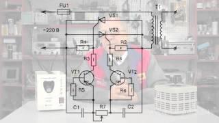 видео Сварочный инвертор на тиристорах самодельный: изготовление оборудования