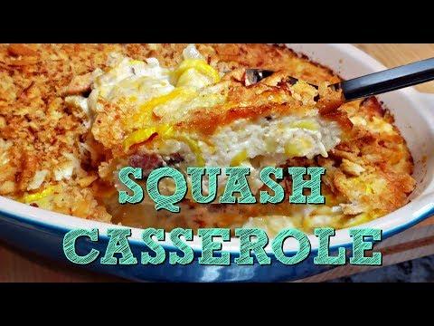 Creamy Squash Casserole Recipe | Yellow Squash Recipe Idea | 4K Cooking Video