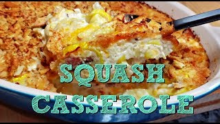 Creamy Squash Casserole Recipe | Yellow Squash Recipe Idea | 4K Cooking Video