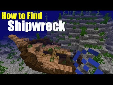 How to Find a Shipwreck | Minecraft PE