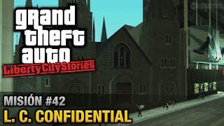 GTA Liberty City Stories - Misión #42 - L. C. Confidential (Español/Sin Comentario - PCSX2)