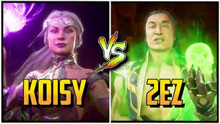 Koisy (Sindel) Vs 2eZ (Scorpion/Shang) Mortal Kombat 11 - Nightmare Series Tournament