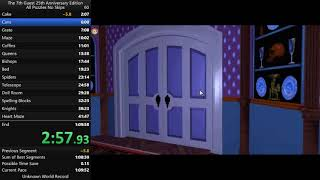 The 7th Guest 25th Anniversary Edition in 56m15s All Puzzles No Skips World Record
