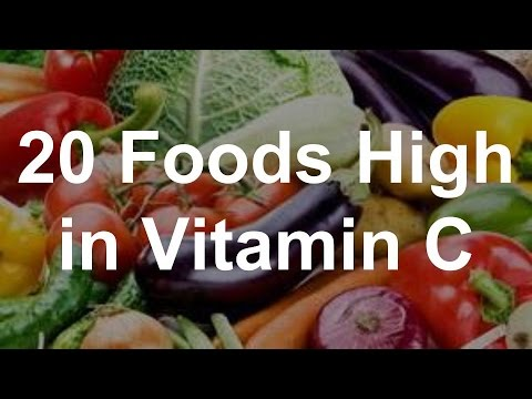 20 Foods High in Vitamin C