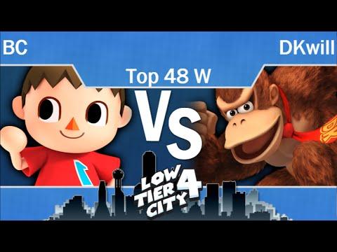 LTC4  - SU | BC (Villager) vs iQHQ | DKwill (DK) Top 48 - Winners - Smash 4