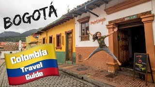 COLOMBIA TRAVEL GUIDE - Things to do in BOGOTA - Budget Backpacking South America travel vlog