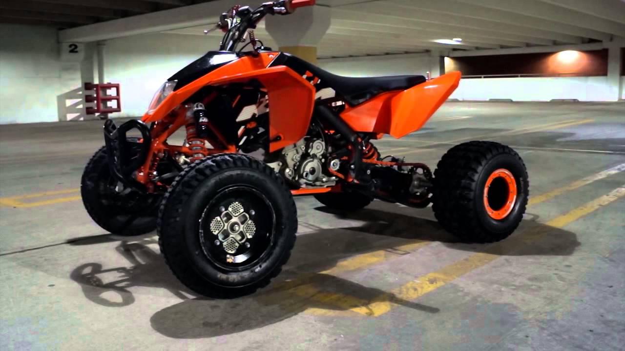 2009 KTM 505 SX - YouTube