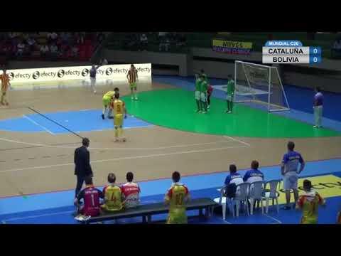 Mundial Sub20 2018 Catalunya - Bolívia pt1