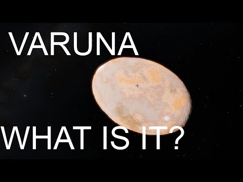 20000 VARUNA - A Huge Asteroid or a Small Dwarf Planet? Space Engine