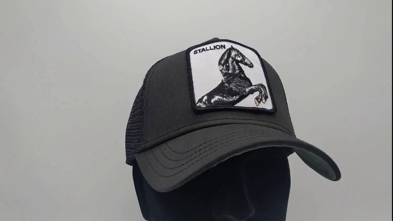 fcbec86ab52a75 Goorin Bros. Stallion Trucker cap - Black - €34,95 - GRATIS Verzending -  CapKopen.nl