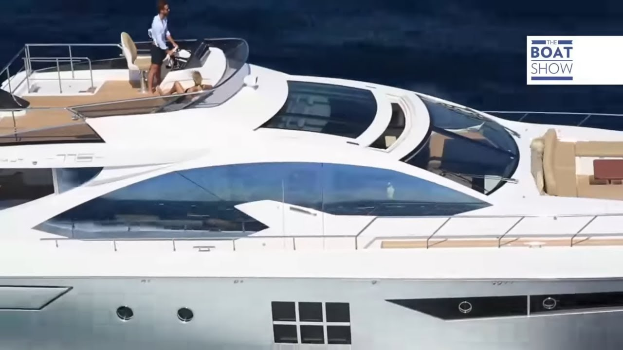 eng  azimut 77s - yacht review - the boat show