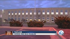 Bed bugs problem at high school in Taylor