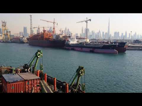 Dubai drydock - manpower supply steering marine
