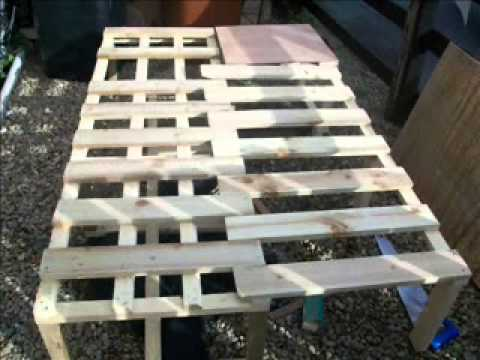 L Shape Bench Bed Wmv Youtube