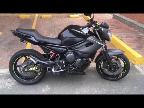 YAMAHA XJ6N WALK AROUND AND SOUND