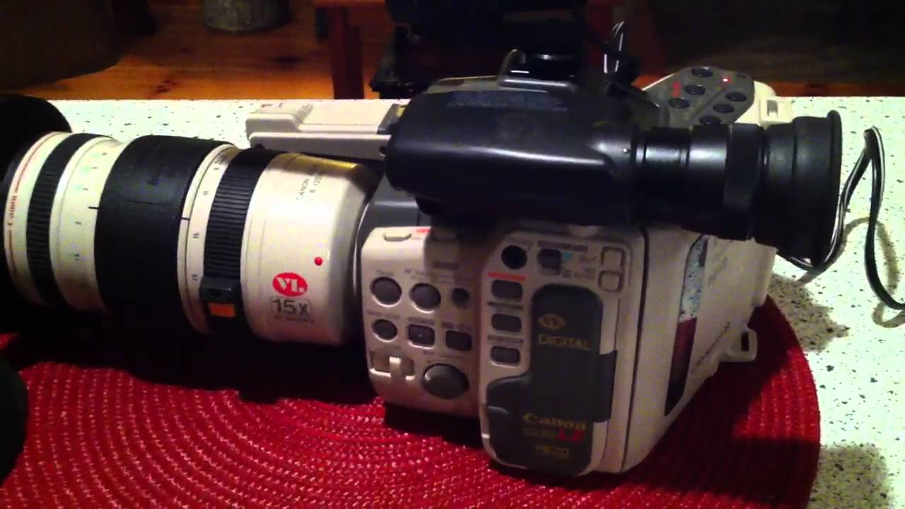 Gear Yell #3- Canon L-2 Hi8 camera