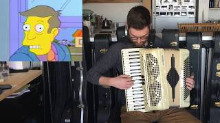 Steamed Hams but it's an Accordion Dub
