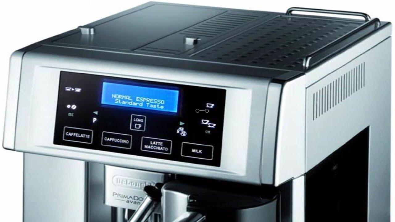 DeLonghi ESAM6700 Gran Dama Avant Touch-Screen Super-Automatic Espresso Machine - YouTube