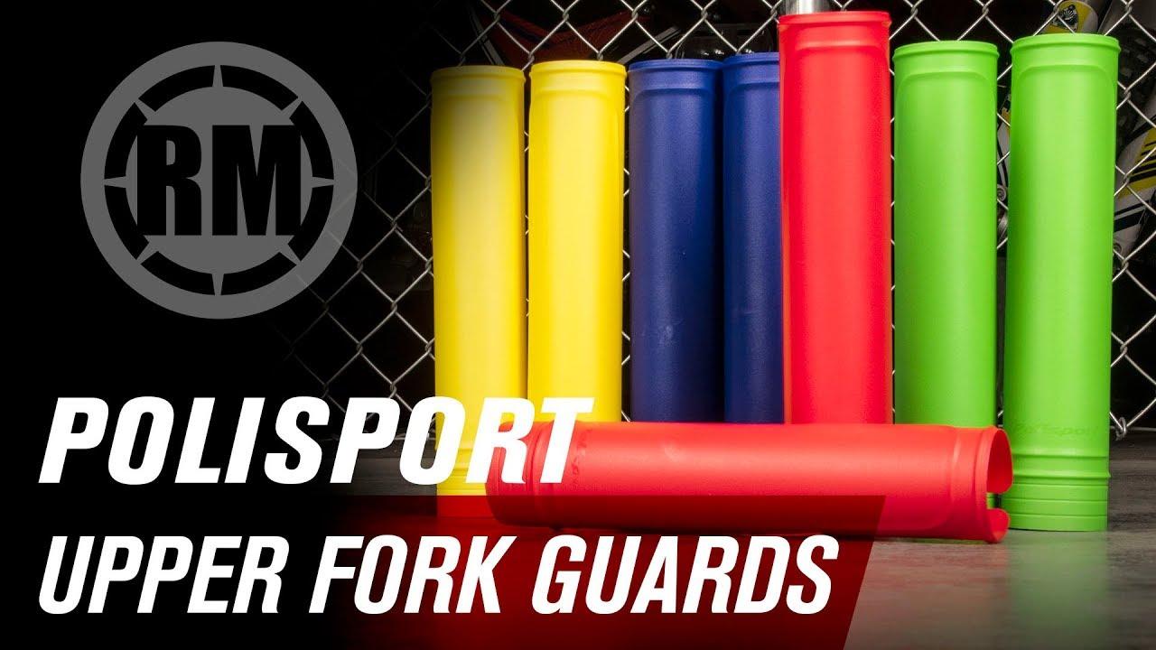 Polisport Universal Upper Fork Guards Red