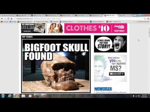 Bigfoot Skull, Spike's $10 Million, BF Movies, Research Teams, Comedy and more...