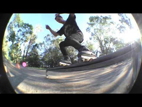 Aggressive Inline Skating Rollerblading Sydney Bladers Skatepark Edit 2016