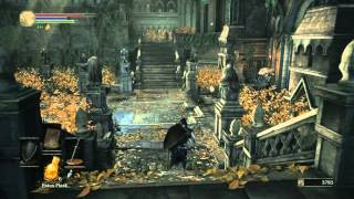 Dark Souls III - How to Farm Titanite Shards and Lothric Knights Strategy  (PS4 1080p)