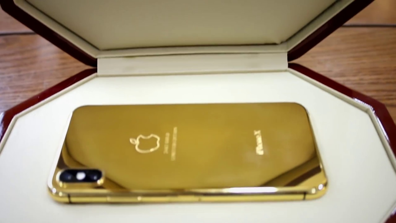 sale retailer 37b7b 8b7e2 24kt Gold Plated iPhone X for Millionaires | Telemart.pk