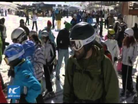 Skiing season of Lebanon attracts tourists around the globe