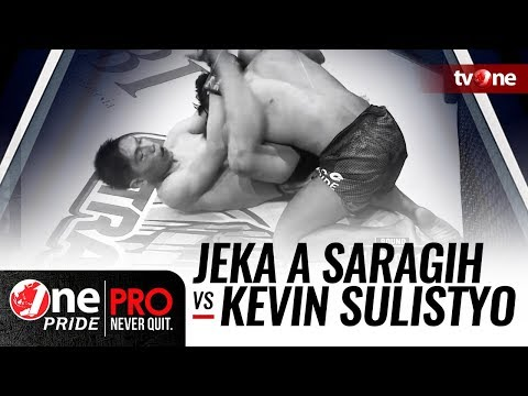 [Full HD] Jeka A Saragih vs Kevin Sulistyo - One Pride MMA - Lightweight Championship