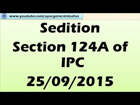 Sedition, Section 124A of IPC: Hindu news analysis ...
