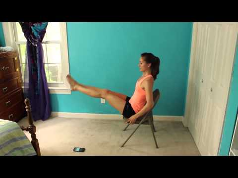 7 Minute Seated Six Pack Workout