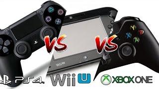 Qual é melhor WII-U, PS4 ou XBOX ONE? (consoles da 8° Geração)