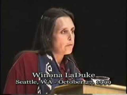 Talk - Winona LaDuke - Land, Life and Culture: A Native Perspective