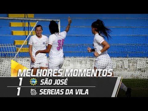 São José 1 x 1 Sereias da Vila | MELHORES MOMENTOS | Paulistão (04/08/18)