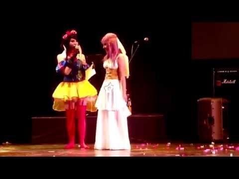 "Saori Kido ""Athena"" Cosplay - DIMENSION COMICS 2014"