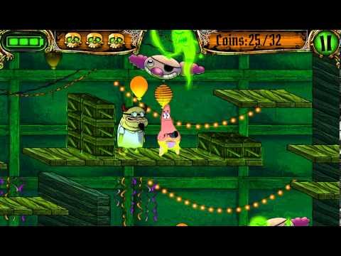Игра Патрик ищет Спанч Боба на корабле с приведениями