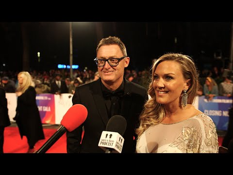 Stan and Ollie Writer, Jeff Pope & Cassidy Cook at BFI London World Premiere