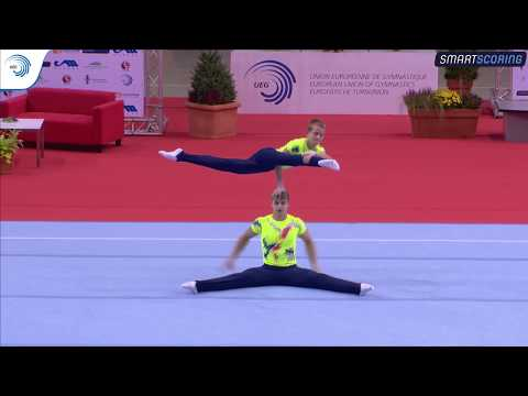 REPLAY: 2017 ACRO Europeans - Qualifications juniors and seniors day 1