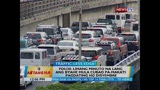 BT: PDu30: Limang minuto na lang ang byahe mula Cubao pa-Makati pagdating ng Disyembre