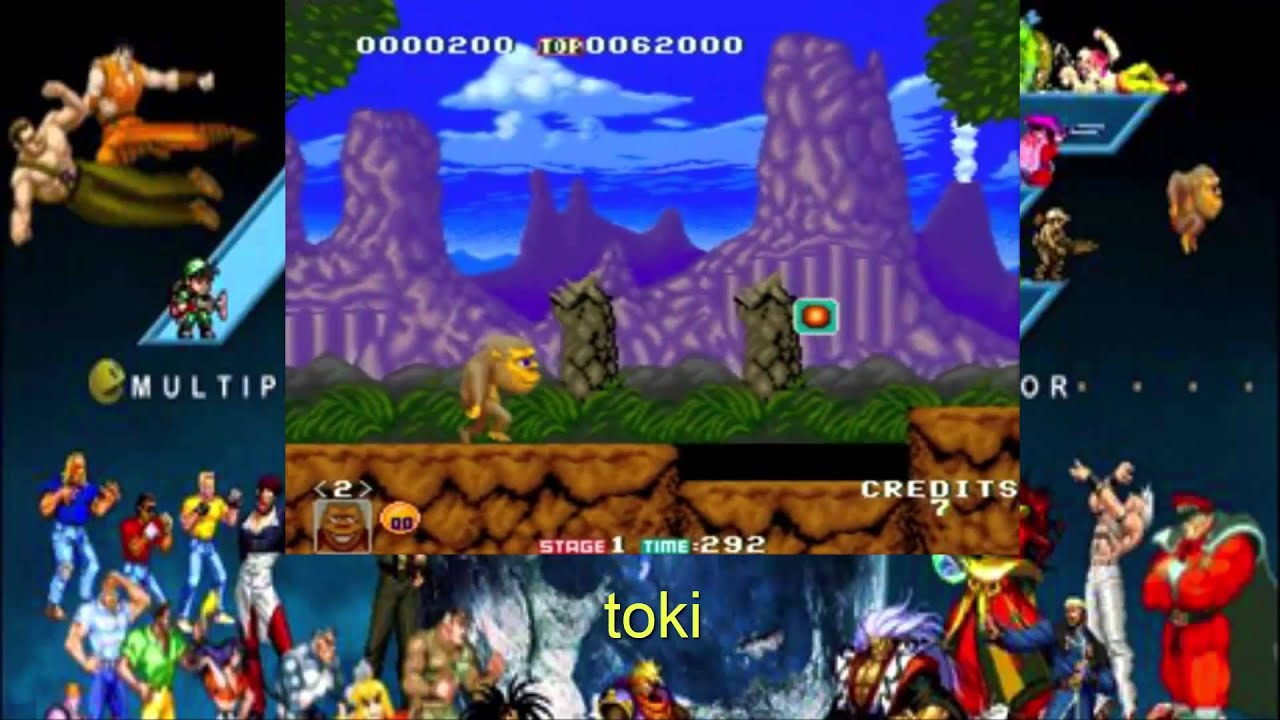 mame platform games
