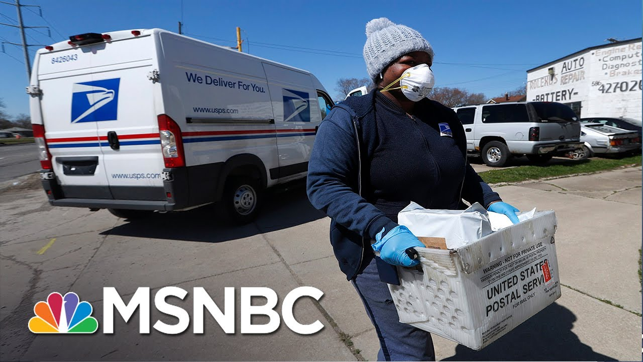 Coronavirus Relief For Workers, Post Office Boosted By Rep. Omar | MSNBC