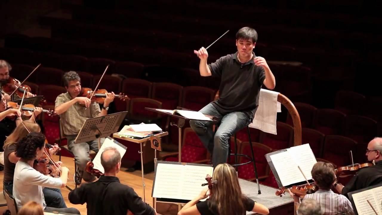Alan Gilbert Rehearses the New York Philharmonic
