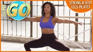 Strong & Sexy legs Pilates Workout for Mobile: 15 Min- BeFiT GO
