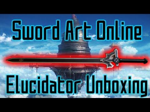 Kirito's Elucidator Replica Unboxing | Sword Art Online