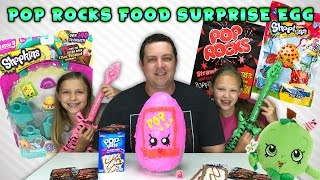 Pop Rocks Food Surprise Egg - Shopkins Season 3 - PopRock