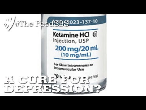 Ketamine; treating severe depression overnight I The Feed