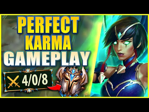 #1 SUPPORT WORLD HOW TO PLAY KARMA PERFECTLY (GUIDE) - League of Legends