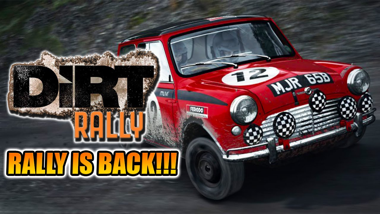Dirt Rally - GOING BACK TO THE RALLY ROOTS!!! - 1960\'s Mini Cooper ...